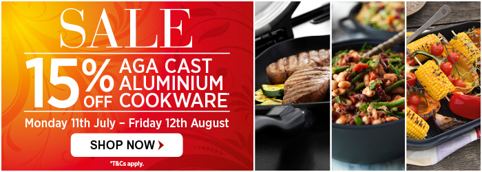 15% off cast aluminium