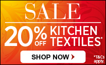 20% off Textiles