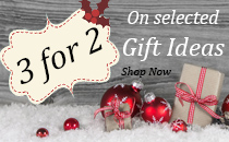 3 for 2 Christmas Gifts