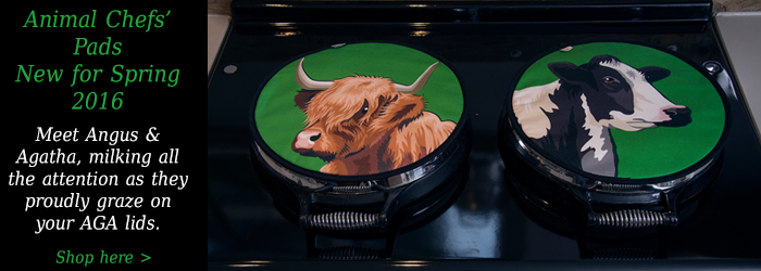 Animal Chefs' Pads Cows