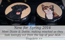 Animal Chefs' Pads Dizzie & Dottie