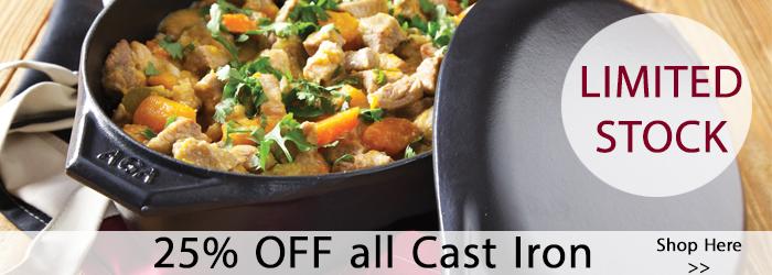 25% Cast Iron