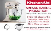 KitchenAid Promotion August 2016