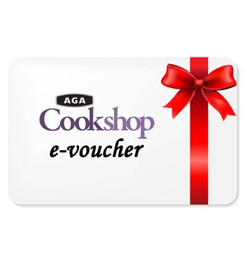 Aga Cookshop E-Vouchers