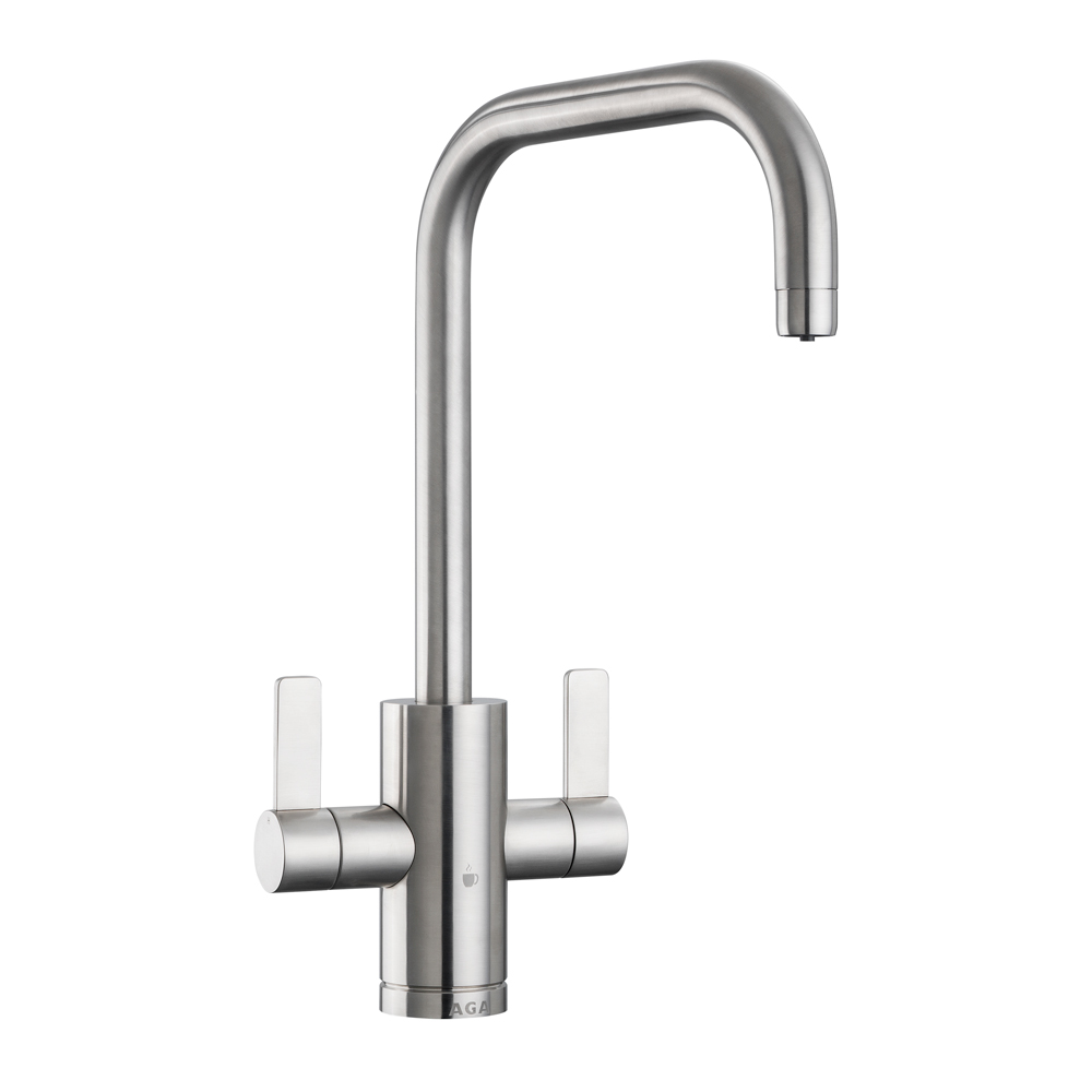 AGA 4-in-1 Modern Tap - Brushed