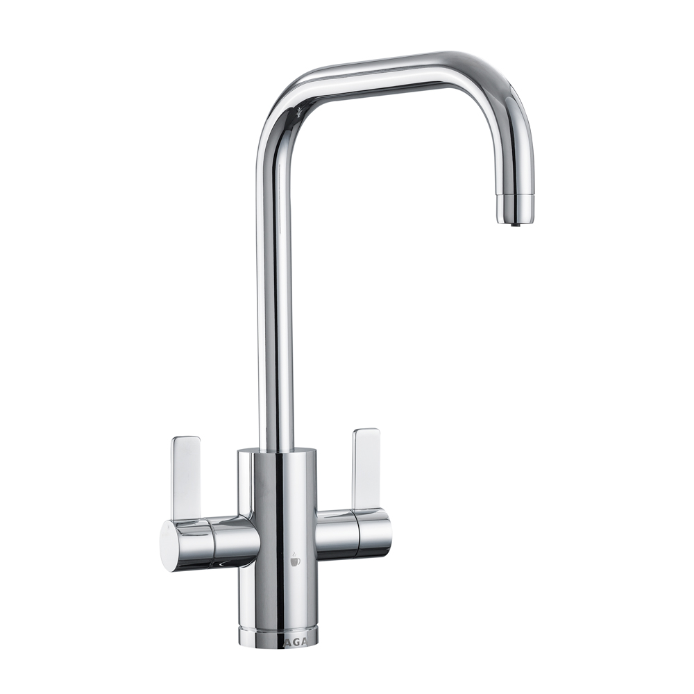 AGA 4-in-1 Modern Tap - Chrome