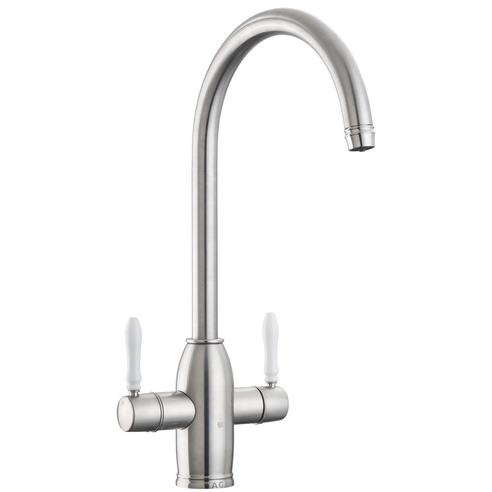 AGA 4-in-1 Traditional Tap - Brushed