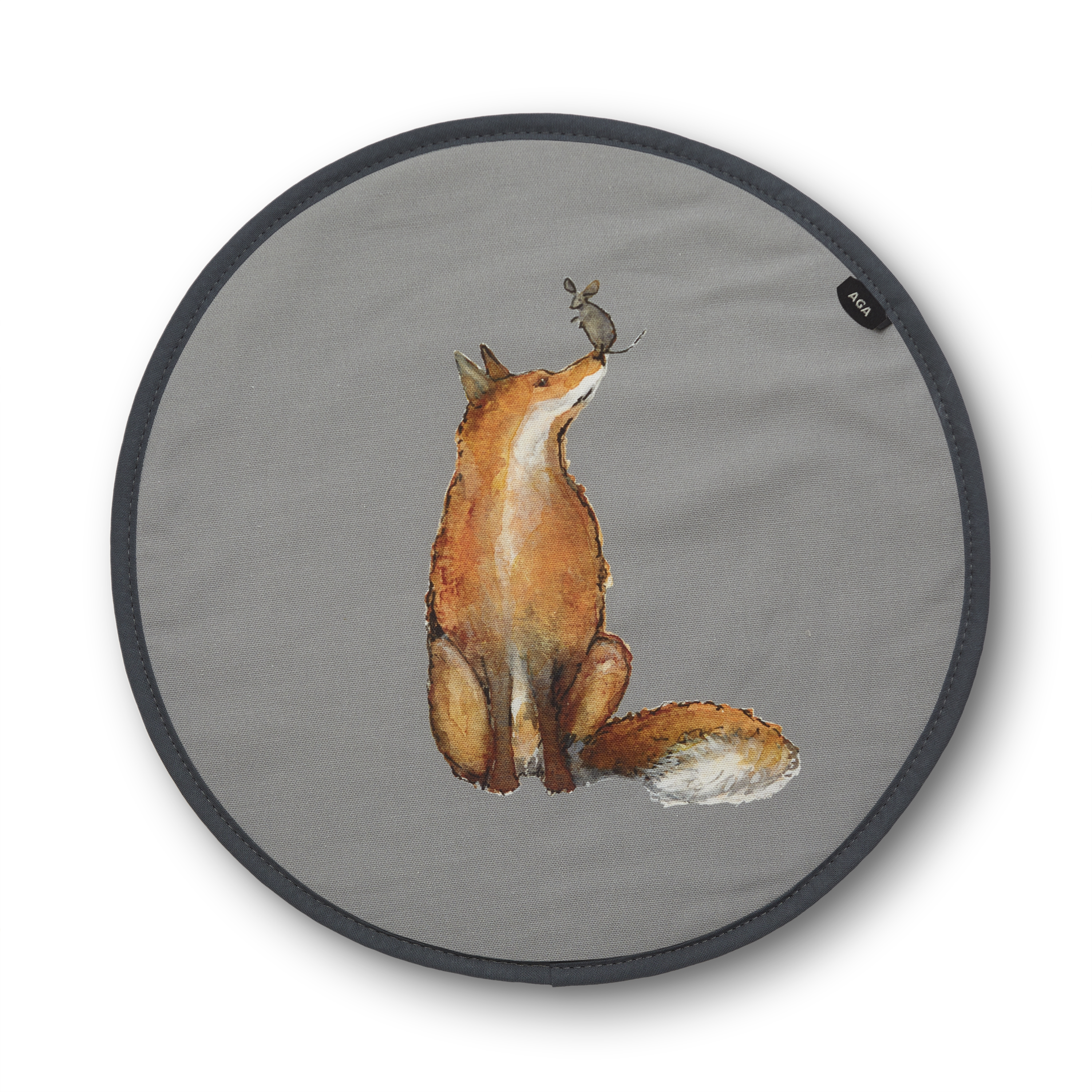 AGA Fox and Mouse Playing Chefs' Pad