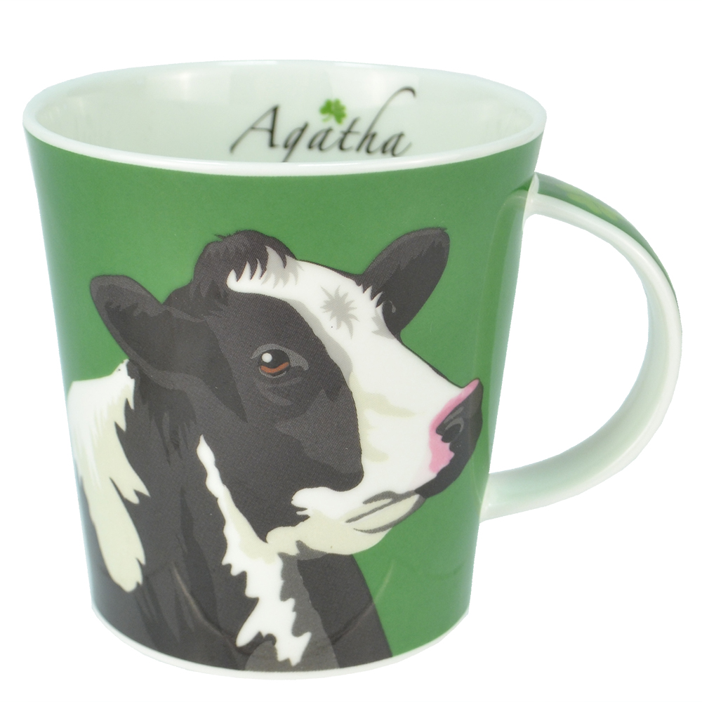 AGA Animal Mug Agatha the Friesian Cow