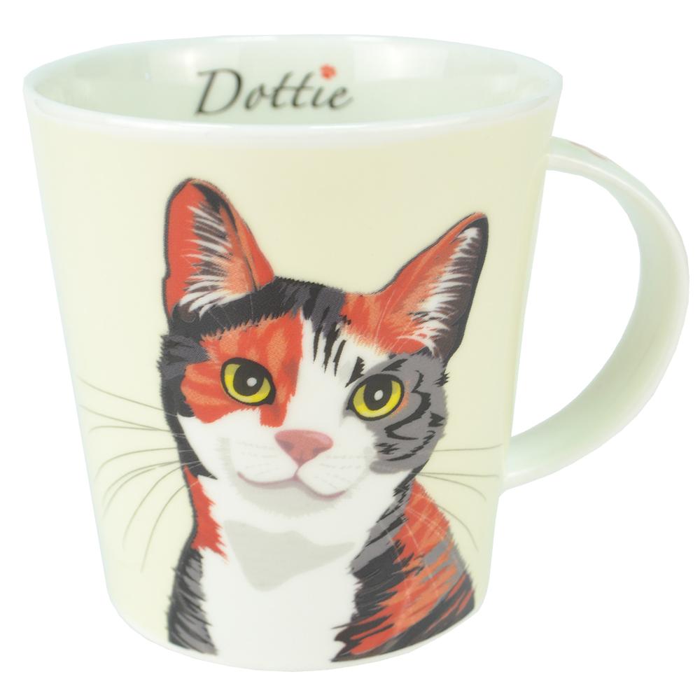 AGA Animal Mug Dottie the Cat