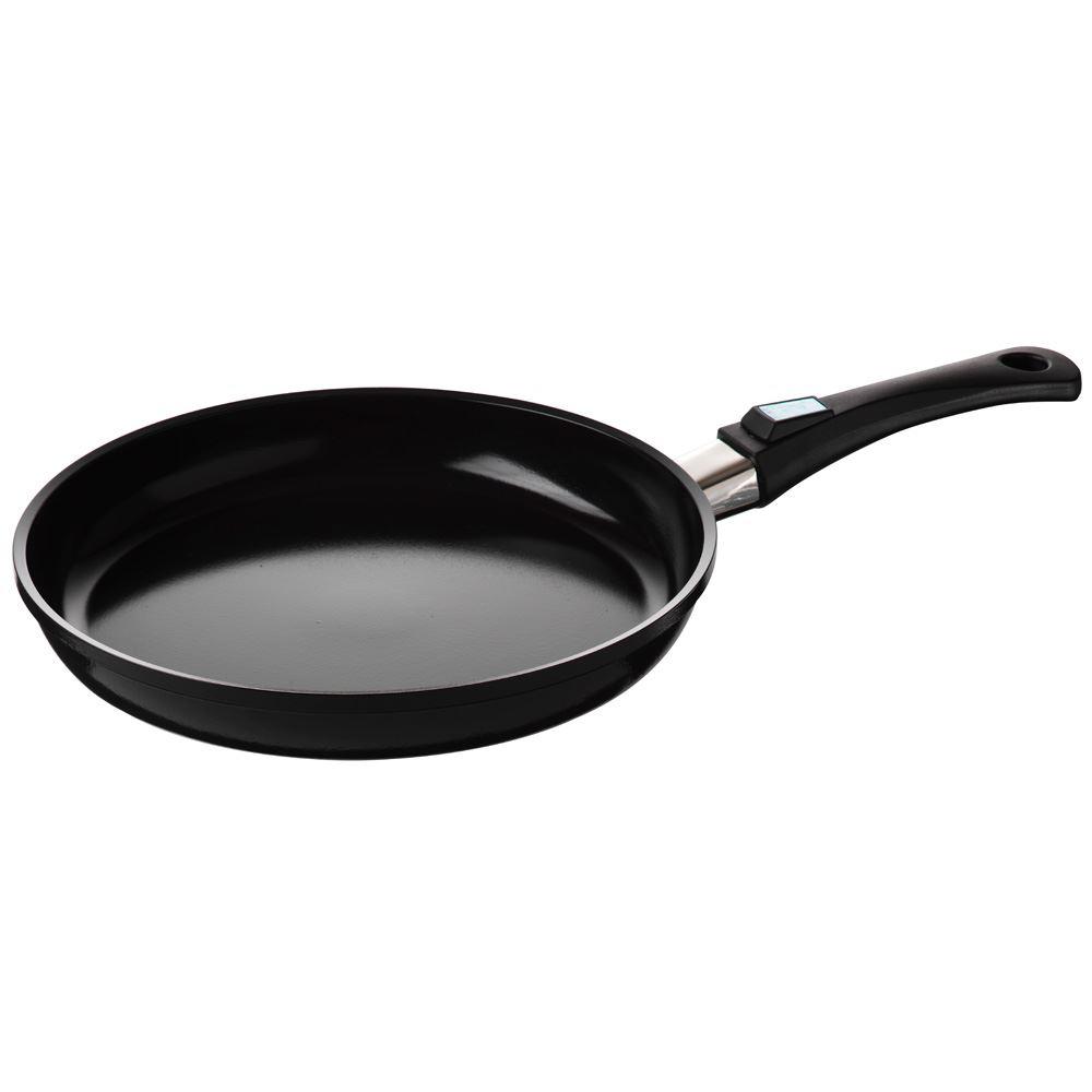 24cm Black AGA Berndes Ceramic Coated Frying Pan