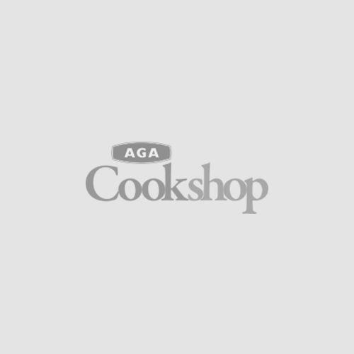 Black and White Cast Iron Chef's Dish