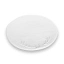 Set of Four Porcelain Dinner Plates with Antler Design
