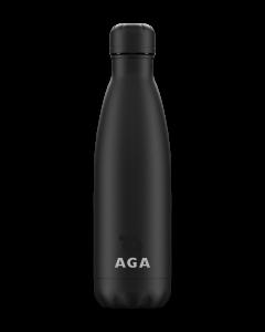 AGA Branded All Black Chilly Bottle