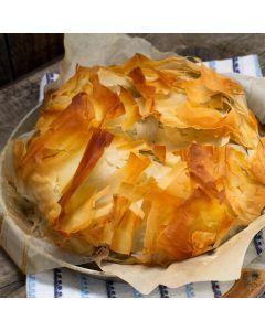 Bombay Potato & Spinach Pie