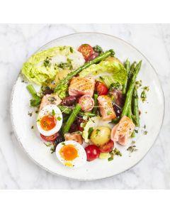 Seared Salmon Niçoise Salad