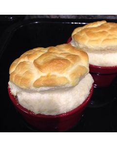 Twice Baked Cheese Souffles