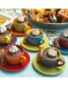 Chocolate and ginger cups