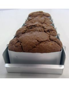 Gluten Free Banana Chocolate & Toffee Cake