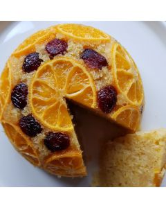 Cranberry, Clementine and Cardamom Pudding