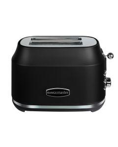 Rangemaster Classic 2 Slice Toaster Black