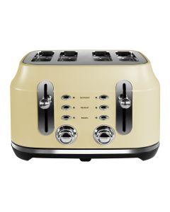 Rangemaster Classic 4 Slice Toaster Cream