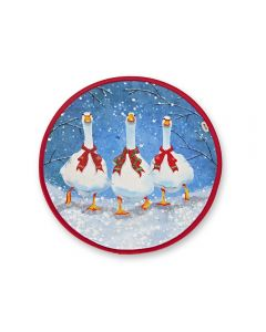 Festive Berry Geese Chefs' Pad