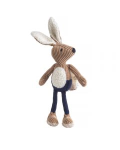 Navy Tweed Hare Dog Toy