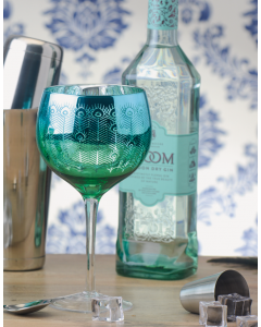 Peacock Gin Glasses