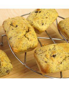 Mini Marmalade and Poppy Seed Loaves