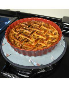 Salted Caramel Toffee Apple Pie