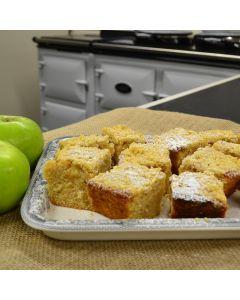 Spiced British Bramley Apple & Elderflower Crumble Traybake