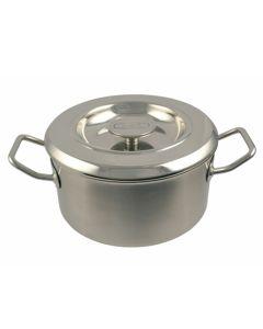 18cm Stainless Steel Casserole