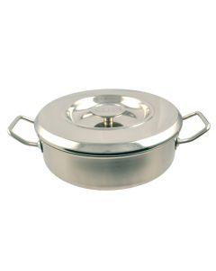 24cm Stainless Steel Saute Casserole
