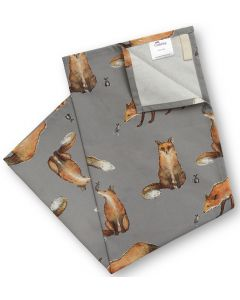 AGA Fox and Mouse Tea Towel