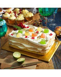 Turkish Delight Gin & Tonic Cake
