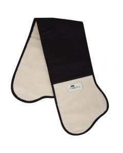 Black Traditional AGA Double Oven Glove