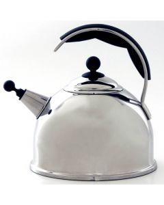 AGA Stainless Steel Whistling Kettle Polished