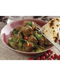 Welsh Lamb and Cranberry Curry