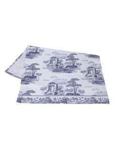 Blue Italian Spode Tea Towel