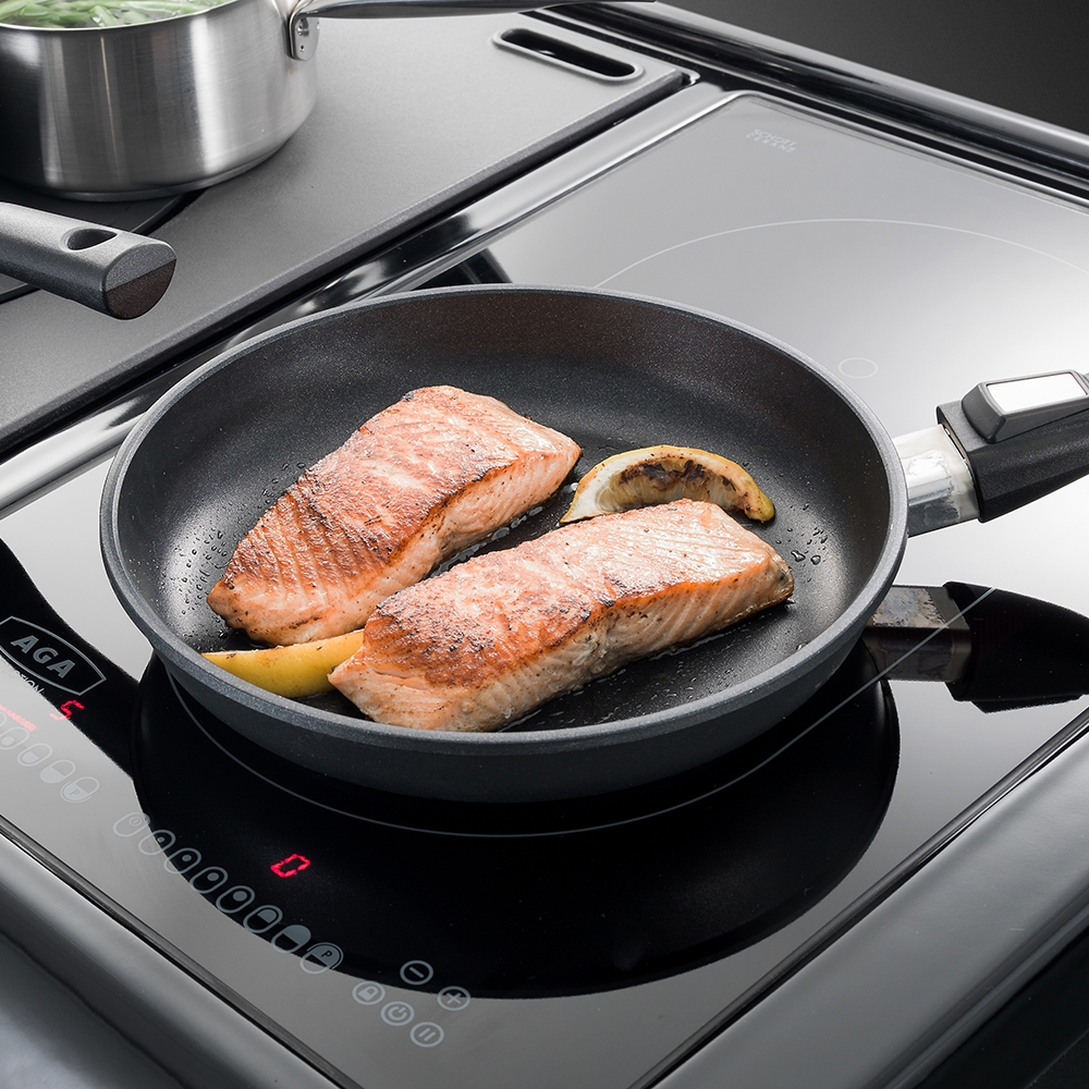 Compare prices for 24cm AGA Induction Cast Aluminium Fry Pan
