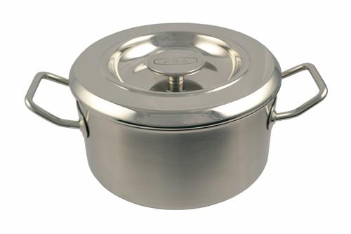 16cm Stainless Steel Casserole