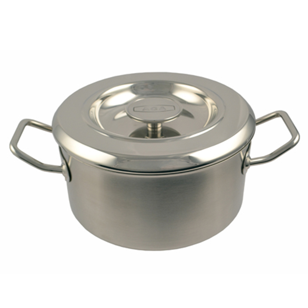 Image of 18cm Stainless Steel Casserole