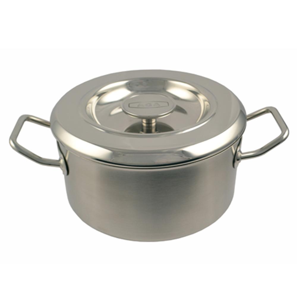 24cm Stainless Steel Casserole
