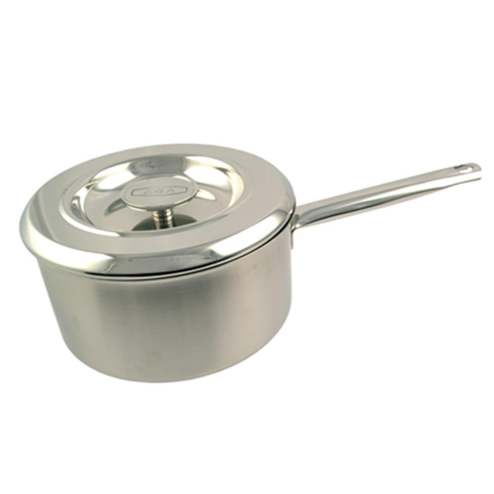 Image of 16cm Stainless Steel Saucepan