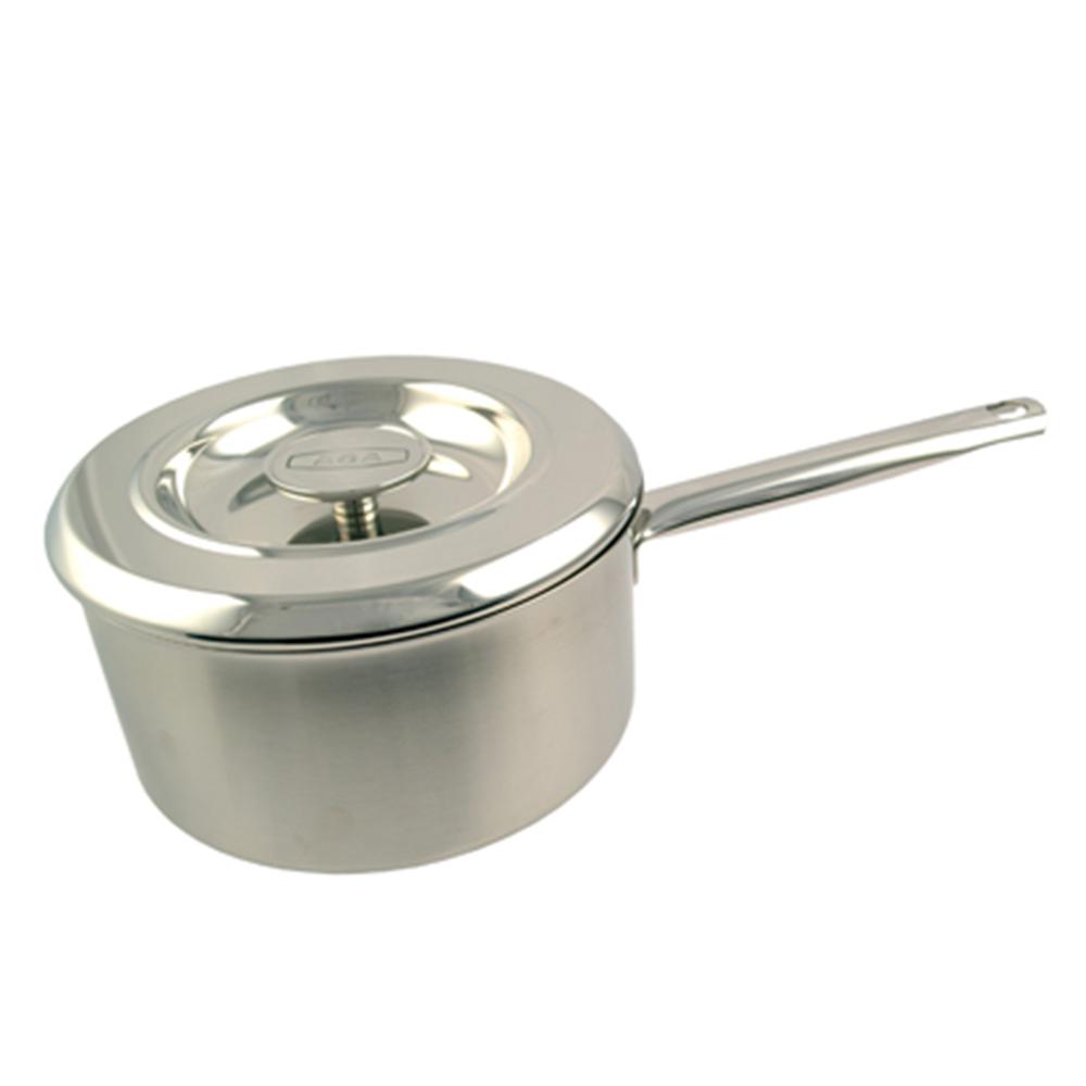 22cm Stainless Steel Saucepan