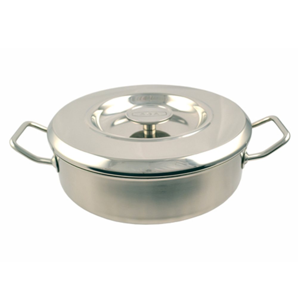 Click to view product details and reviews for 24cm Stainless Steel Saute Casserole.