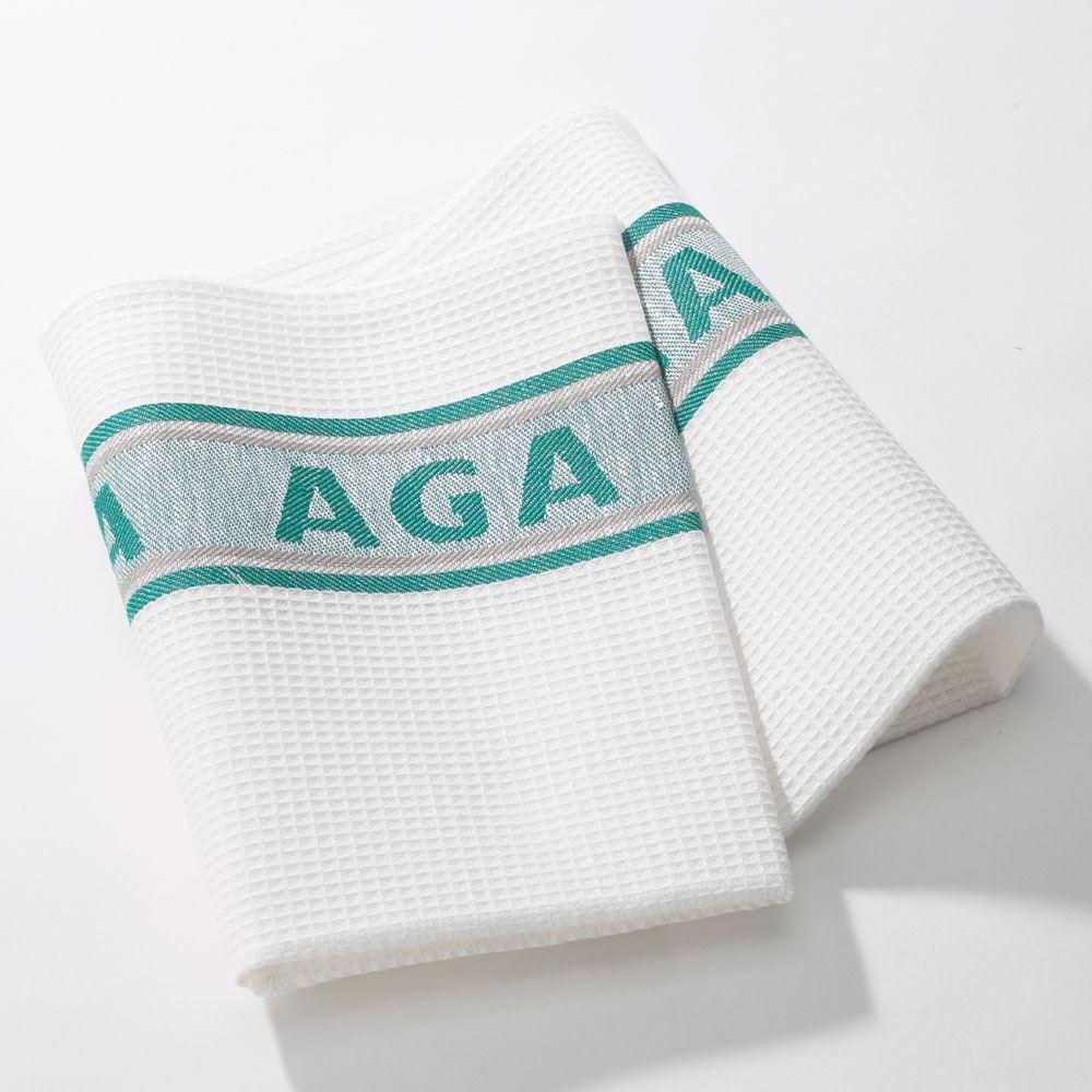 Green AGA Tea Towels lowest price