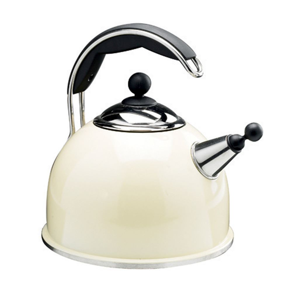 AGA Stainless Steel Whistling Kettle Cream lowest price