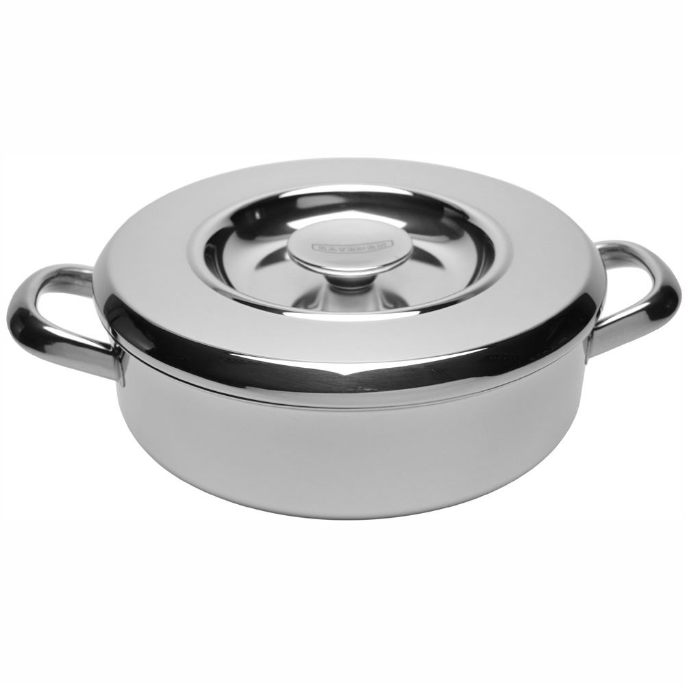 Rayburn Shallow Casserole with Lid